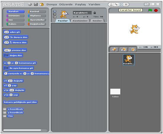 Scratch Bölümler