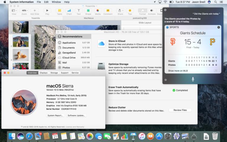 Mac OS X 10.12 768x480