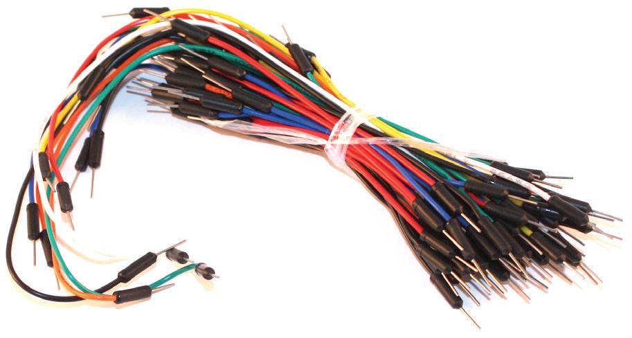 Breadboard jumper kabloları