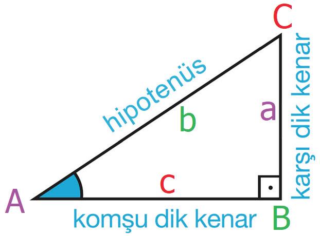 Dik üçgenin yapısı