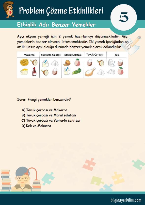 5.Benzer Yemekler