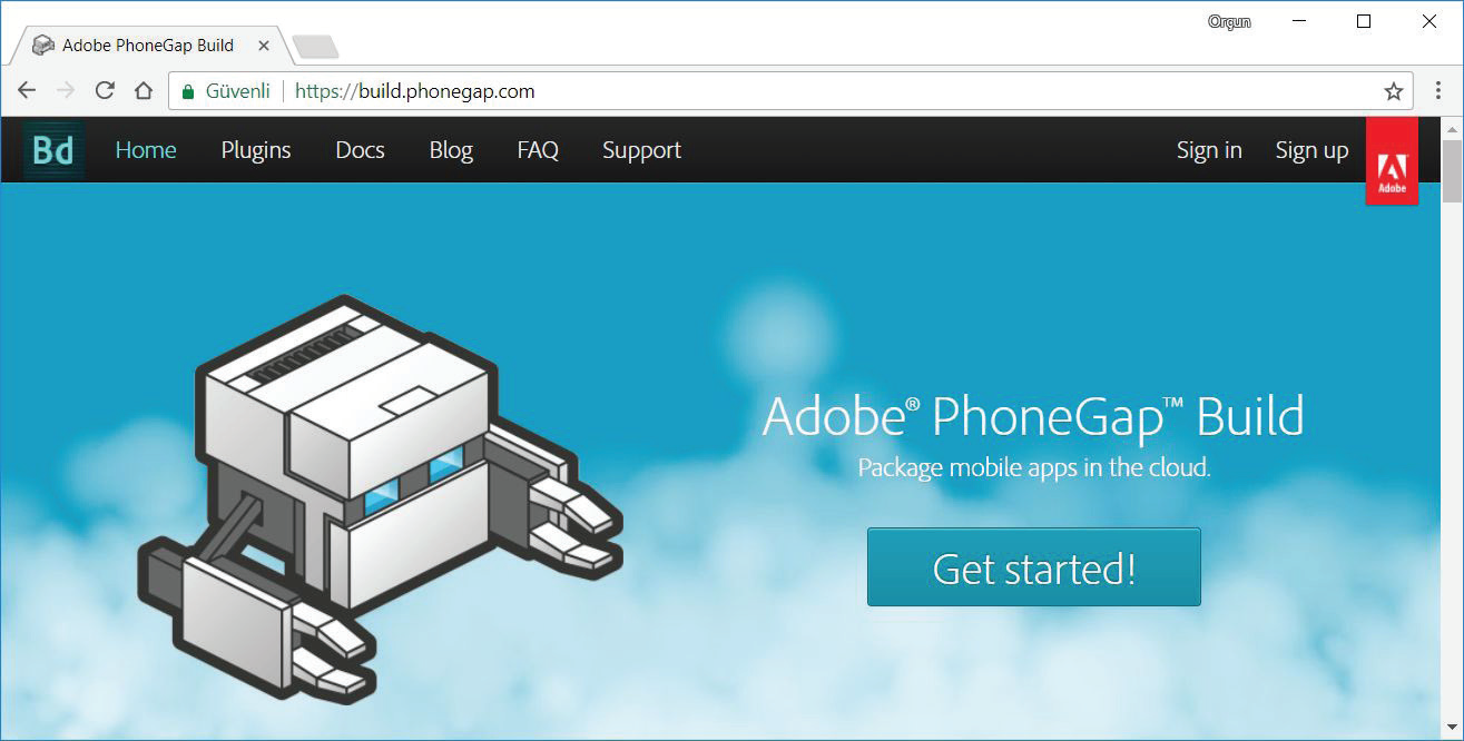 Adobe PhoneGap Built