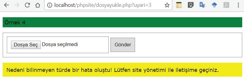 Ekran Görüntüsü dosyayukle.php4