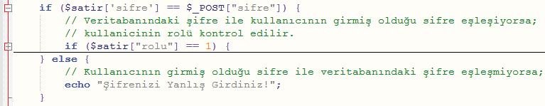 PHP kodu