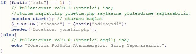 PHP kodu2