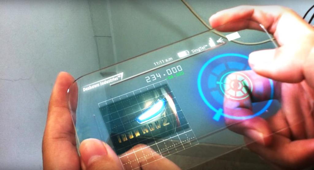 Akıllı telefonlar şu an çok ince peki ilerde şeffaf olabilir mi 1024x555