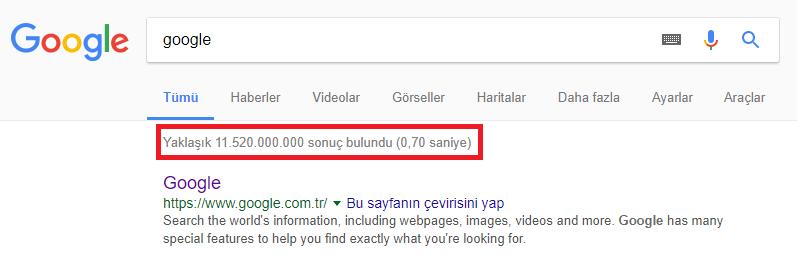 Google nasıl bu kadar bilgiyi bu kadar hızlı bulabiliyor
