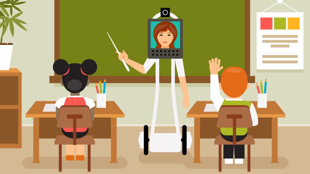 Robot öğretmenler yakında kullanılmaya başlayacak mı 1024x576