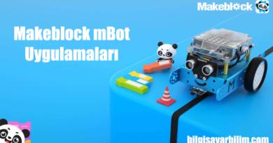 Makeblock mBot Uygulamaları 390x205